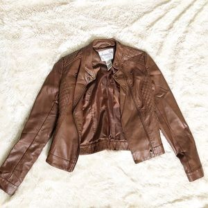 American Brown Leather Jacket